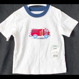 Other - 🇺🇸 NWT Baby Boy 18 Month Firetruck Tee